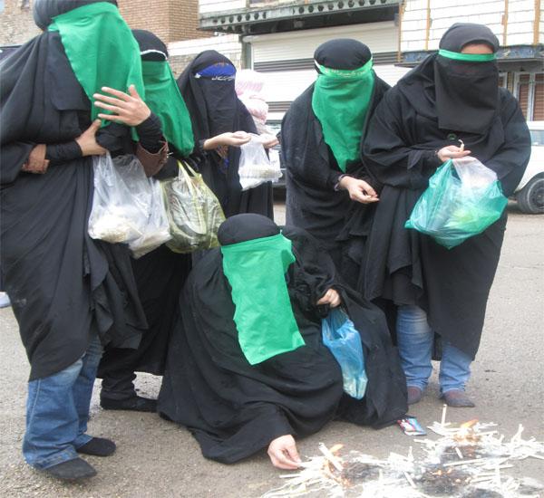"""برگزاری مراسم """"چهلمنبری"""" زنان لرستانیها در تهران + شرح آیین"""