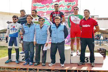 تيم دوچرخهسواري بروجرد در ليگ دسته اول كشور سوم شد