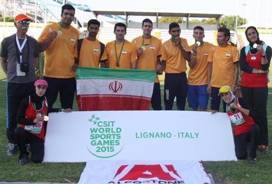 دونده لرستانی نشان طلای دو و میدانی کارگران جهان را کسب کرد
