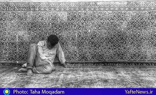 مسجد امام خمینی بروجرد عکس از طاها مقدم
