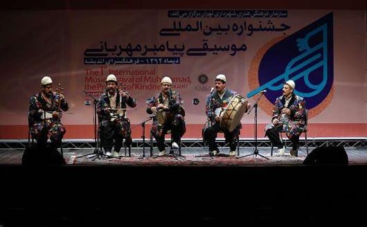 عطر مهربانی موسیقی لرستان در پایتخت پیچید / تجلیل از موسیقیدان بزرگ لرستانی