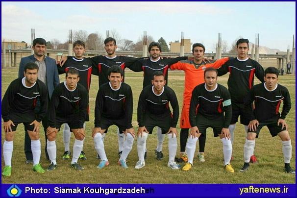 تیم پردیس خرمآباد قهرمان لیگ برتر فوتبال لرستان