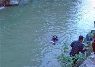 پسر بچه 9 ساله در رودخانه سزار سپيددشت غرق شد