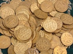 دو هزار و 600 قطعه سکه تقلبی در ازنا کشف شد