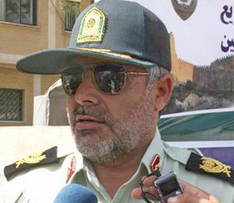سردار محمد قنبري فرمانده انتظامي لرستان
