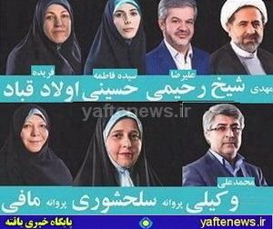 ز 10 كانديداي مورد حمايت لرتبارها در تهران 7 داوطلب به مجلس راه يافتند + آرا و مشخصات