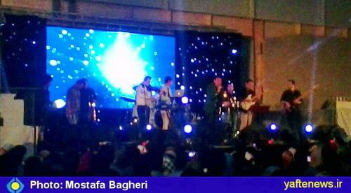 کنسرت پرحاشیه احسان خواجهامیری در خرمآباد برگزار شد/ بازار سياه بليط