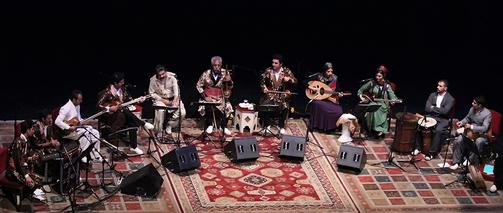 کنسرت مشترک لری و کردی شاهو عندلیبی و فرج علیپور در تهران برگزار شد