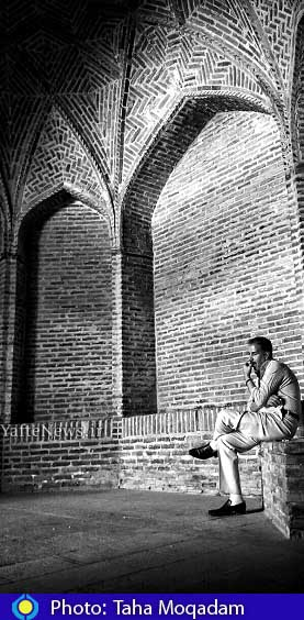 مسجد امام خمینی بروجرد عکس طاها مقدم