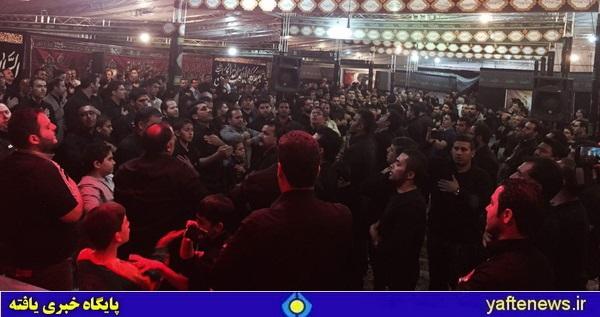عزاداری لرستانیهای مقیم تهران در سومین شب محرم+ عکس