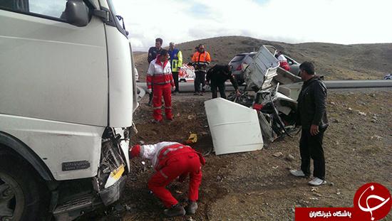 دو حادثه و 3 کشته در جادههای لرستان