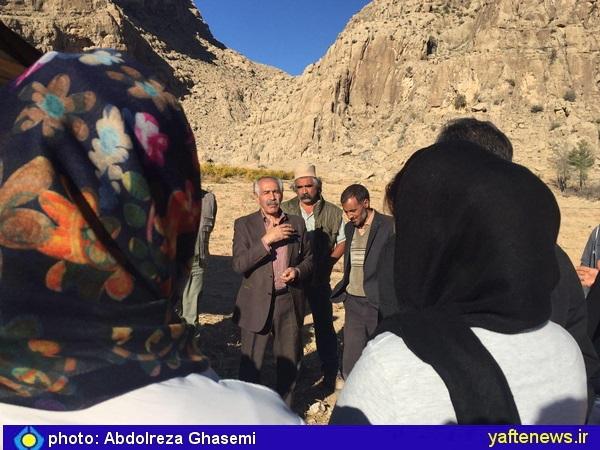 پدر بلوط لرستان در جمع فعالان محیط زیست استان فارس -سخنرانی حمزه ولوی مدیر کل فارس