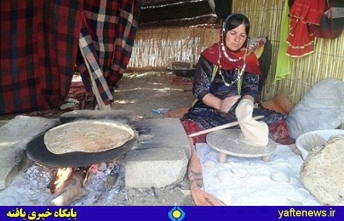 سیاه چادر خانواده عشایر بختیاری الیگودرز لرستان