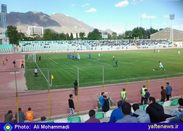 خیبر بازی 6 امتیازی را فتح کرد/ صعود 2 پلهاي سبزپوشان خرمآباد در جدول