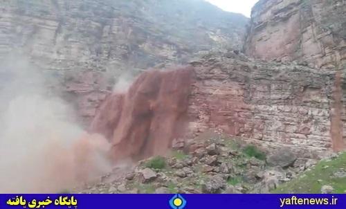 طغیان کشکان پل ارتباطی معمولان را تخریب کرد/ سیل در روستاهای پلدختر