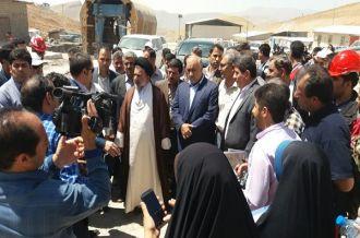 گزارش تصویری: بازدید نماینده ولیفقیه و استاندار لرستان از دو پروژه مهم استان