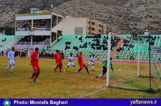 گزارش تصویری: خیبر خرمآباد یک ـ سپیدرود یک/  فرصت سوزی ادامه دارد
