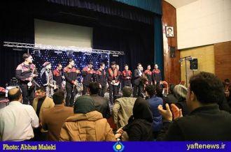 گزارش تصویری: اجرای موسیقی فولکوریک گروه وَشت در خرمآباد برگزار شد