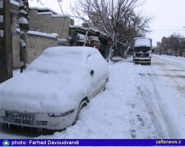 بارش برف، این نعمت الهی در بروجرد- یافته