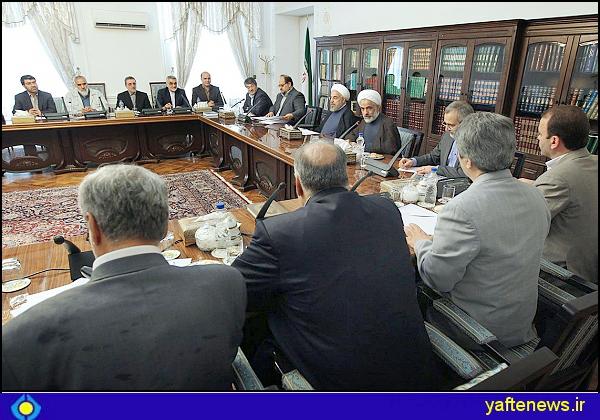 گزارش تصویری ملاقات نمایندگان لرستان با رئیس جمهور