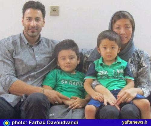 گزارش تصويري: فرزندان دورگه مليپوش بروجردي و ژاپني - مساجدي واليبال