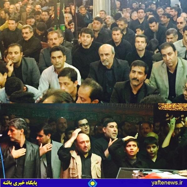 مراسم باشکوه شب تاسوعا لرستانیهای پایتخت با حضور