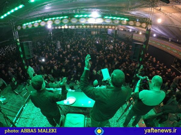 عزاداری لرستانیهای مقیم تهران در شب پنجم محرم با نوای حسین سهرابی+ تصاویر